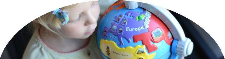 Ideas for Preschoolers: Around the World
