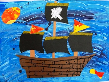 pirate ship craft ideas ideas for preschoolers 5208